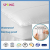 Waterproof polyester bamboo fiber terry fabric bedbug bed pads best selling amazon cotton knitting fabric