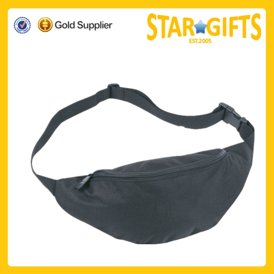 China Wholesale Cheap Simple 600 D Polyester Nylon Running Waist Bag /fanny Pack