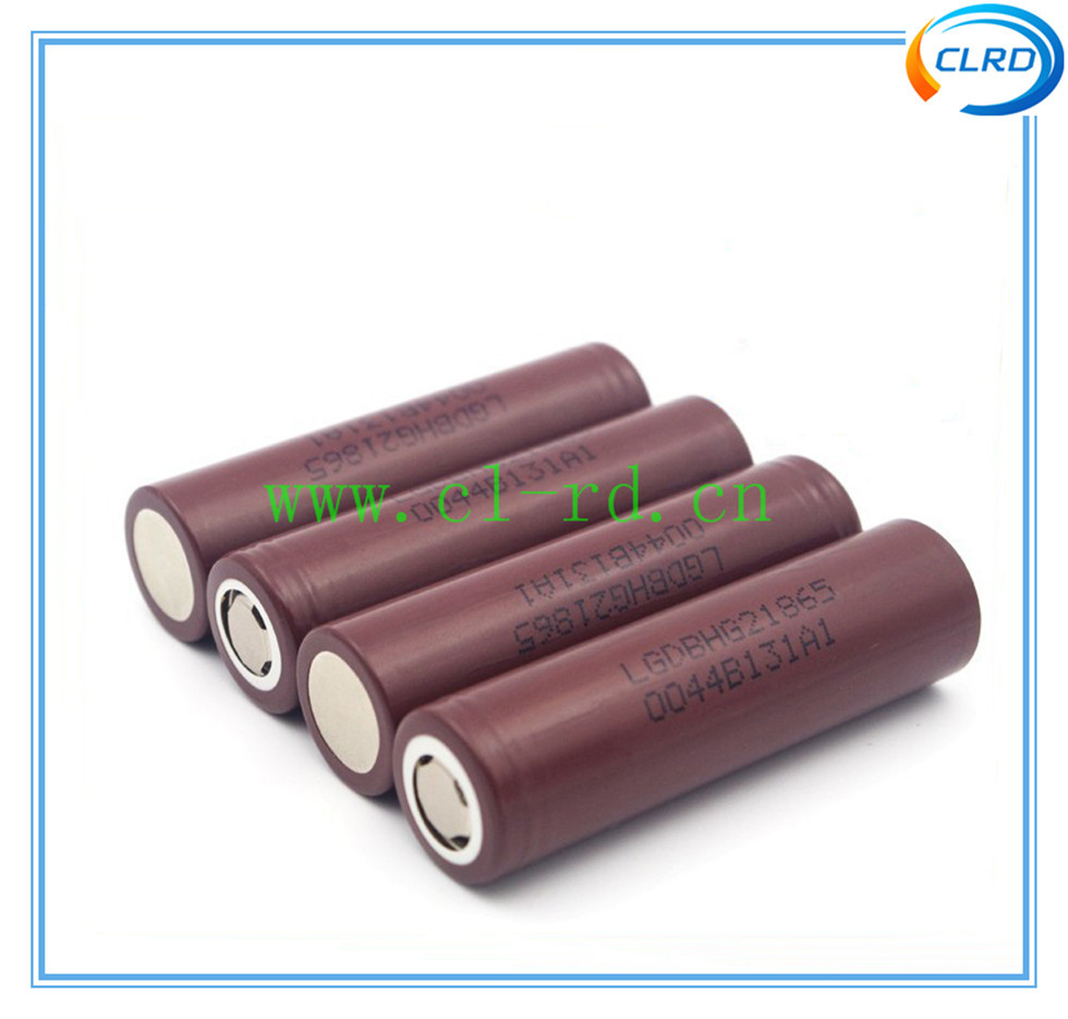 Genuine LG 18650 battery flat top LG hg2 3000mah lithium ion battery 20a high drain battery LGDBHG21865 HG2 HE2 HE4 in stock