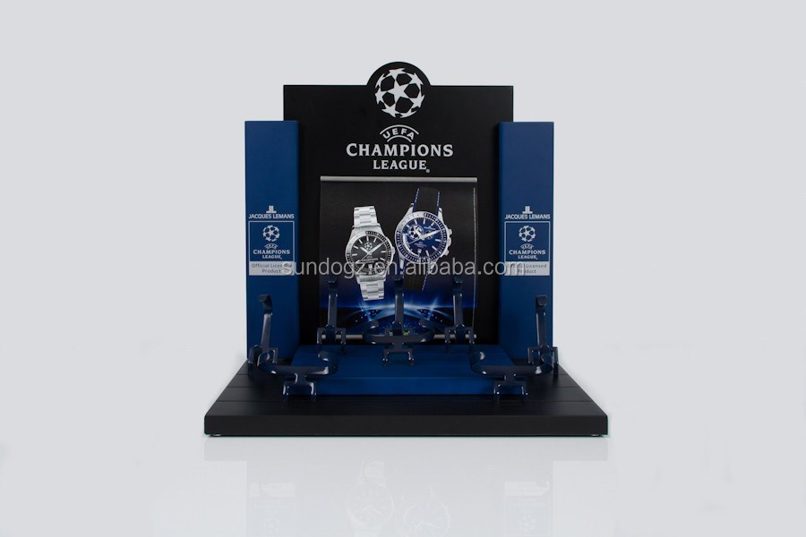 theme watch display showcase for UEFA Champions League