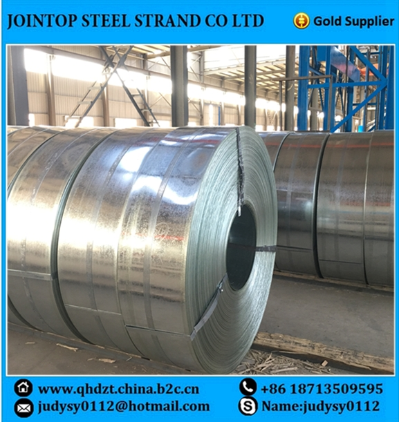 <strong>Q195</strong> Galvanized Cold Rolled Steel Strip 295~430mm 0.8~2.0mm