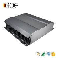 246*64-D mm electricity box aluminium extrusion enclosure for electronics case electricity box
