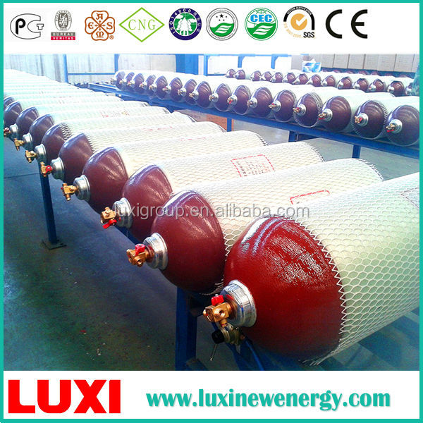 Standard ISO11439:2000 lock gas cylinder china cng gas cylinder 20mpa for car