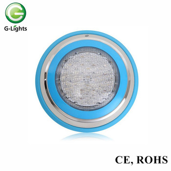 Multi Color Wall-installed 24W wall mounted led swimming pool light