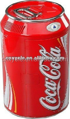 wenzhou Coke type 11L MINI car refrigerator with CE
