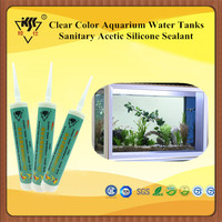 Clear Color Aquarium Water Tanks Sanitary Acetic Silicone Sealant