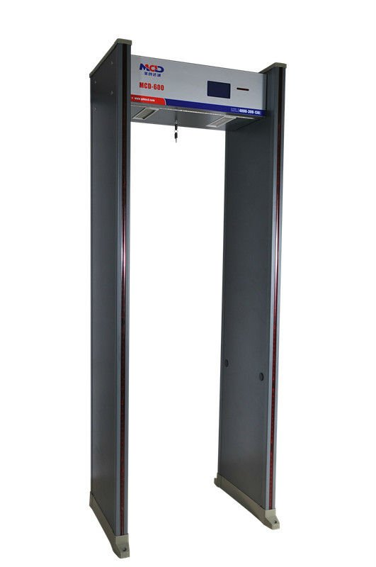 Airport walk through metal detector with multi zone for police/Portable metal detector MCD500