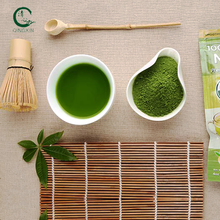 Private label premium green tea protein matcha powder for wholesale