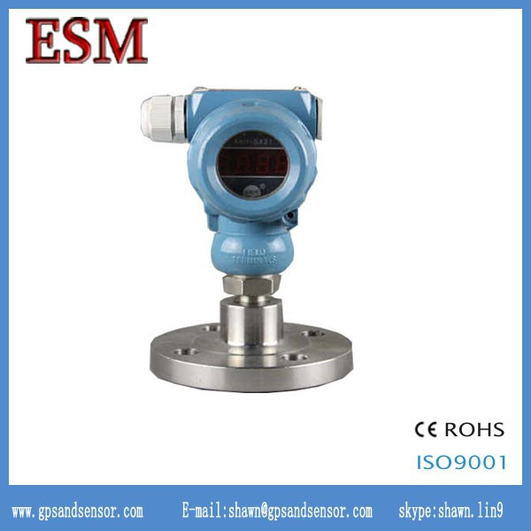 Smart Flanged Explosion Sanitary diaphragm pressure transmitter with display