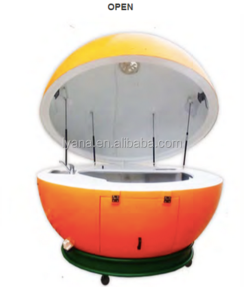 Movable orange juice Kiosk, shopping mall food kiosk