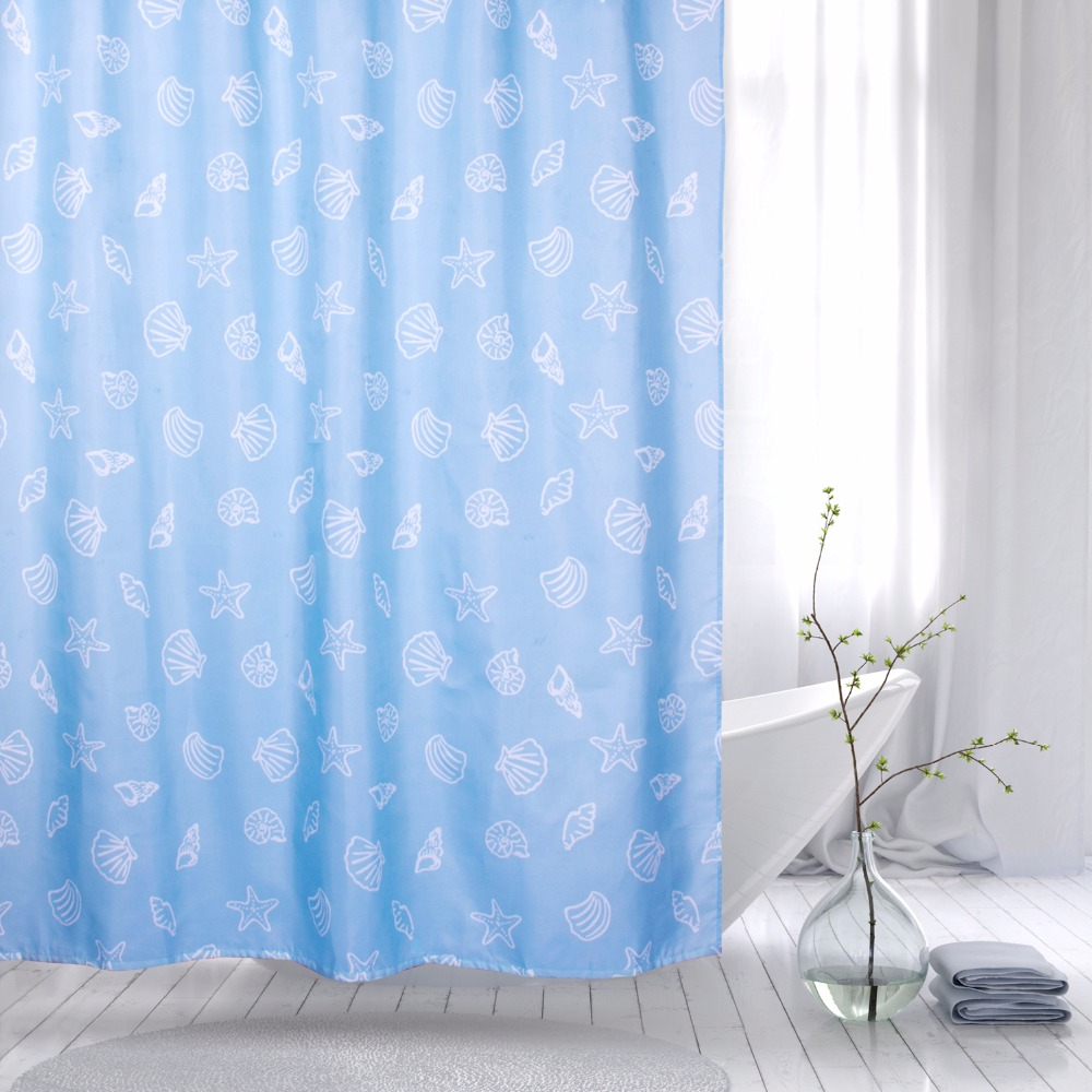 Short shower curtain liner