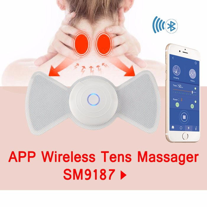 Sunmas IOS system App bluetooth wireless control 5V Extreme Power rechargeable electronic massager