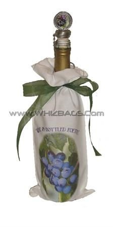 Canvas Cloth Cotton PolyCotton Velvet Fabric Woven Wine Bags or Sacks
