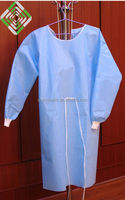 nonwoven disposable patient gown sms surgical gown
