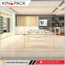 KINGPACK mdf wood store fixtures furniture for mobile phone display