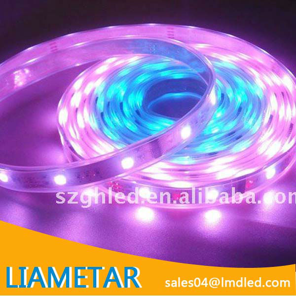 Factory Wholesale RGB 30 PCS/M 2 year warranty 5050 waterproof smd led flex tape strip light