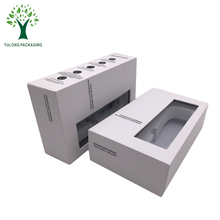 Custom Printing Clear PVC Window EVA or Sponge Foam Insert Electronic Packaging Box