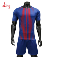 2016 2017 new blank soccer uniform long sleeve cheap red white pink black blue green club soccer jersey