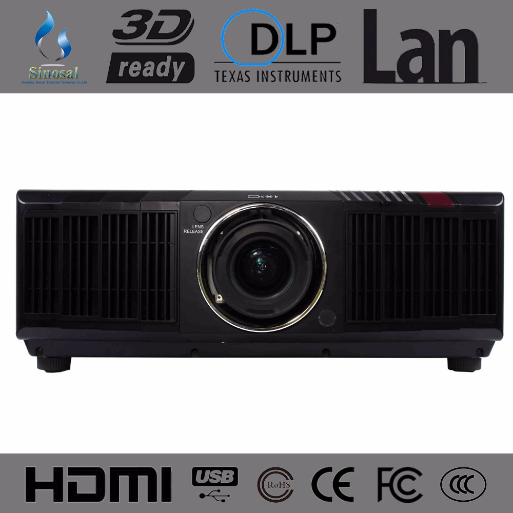 2016 Newest HDMI Lcd 15000 lumens data show large venue projector SINO-PL30 for Meeting