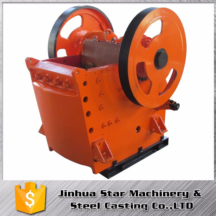 Stone pit Low power consumption iron ore crusher