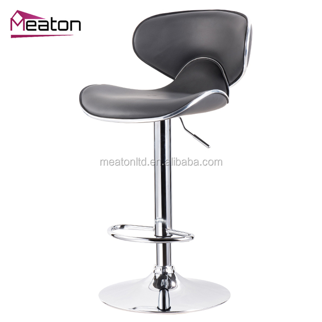Modern Cheap Kitchen Designs Industrial Faux Leather Bar stool Chair