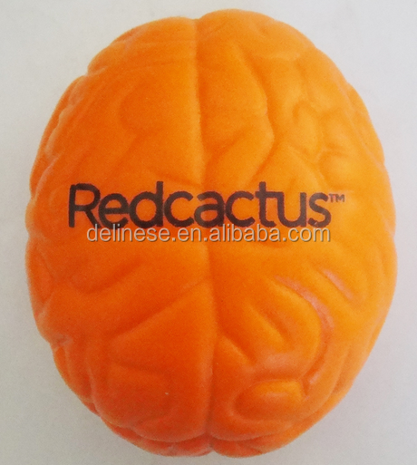 Custom Wholesale Brain Stress Ball