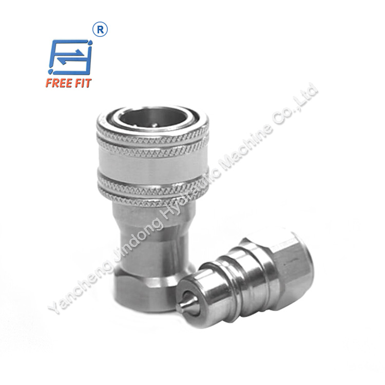China manufacturer durable flat face quick couplings/hydraulic fittings/hose connectors