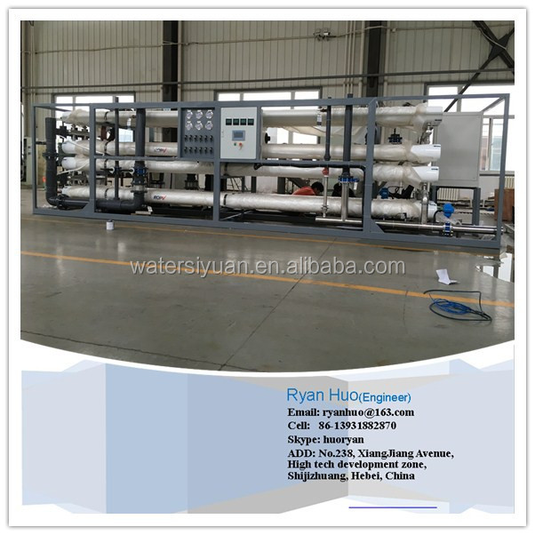 Ro system seawater desalination Equipment/desalination plant price