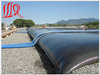 Geotube for environmental remediation