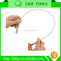 PP Handle Sink Spring Drain Pipe Cleaner, Wire Drain Snake