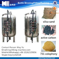 Underground water processing plant/filter