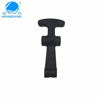 Dongguan manufacture rubber T-handle Latch for ice box or medical box
