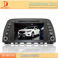 8 inch HD touch screen 2014 Mazda 6 DVD GPS with bluetooth,IPOD,digital TV available