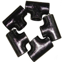 High quality Pipe Fittings 4 Inch 304Stainless Steel black steel Pipe Tee