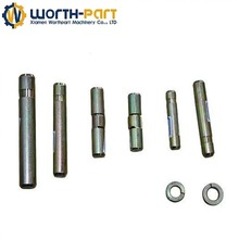 excavator pins and bushing bulldozer spare parts bucket pins and bushings track pins and bushings