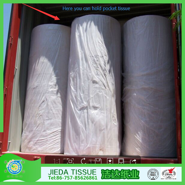 Factory direct sale toilet paper jumbo roll Manufacturers in China