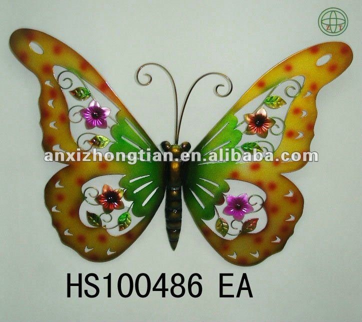 Hot Sale Metal Butterfly Wall Decor   Buy Wall Decor,Metal Crafts,Metal  Butterfly Wall Decoration Product On Alibaba.com