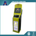 dual screen self-service ticketing kiosk and touch screen parking payment ticket kiosk (HJL-3320)