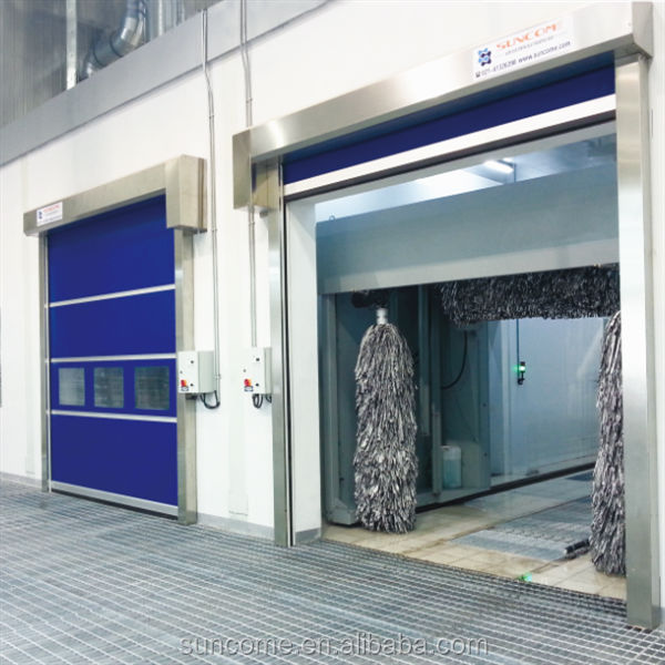 plastic hi speed door