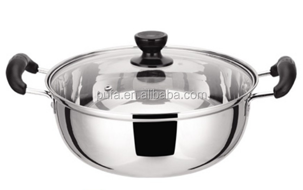 stainless steel hot pot stainless steel soup pot stainless steel pot
