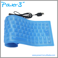 2016 Latest Computer Hardware Waterproof Silicone Keyboard for Laptop Dell Inspiron