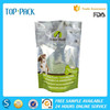 High quality custom logo plastic stand up pouch for dog food packaging