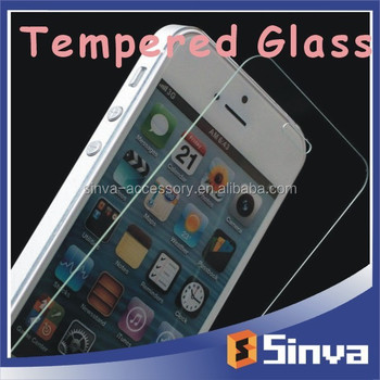 Hot Sales Mirror Tempered Glass Screen Protector for iPhone6 On Alibaba