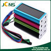 Coloful portable solar panel photovoltaic battery charger 1300mAH for cell with hiqh quality