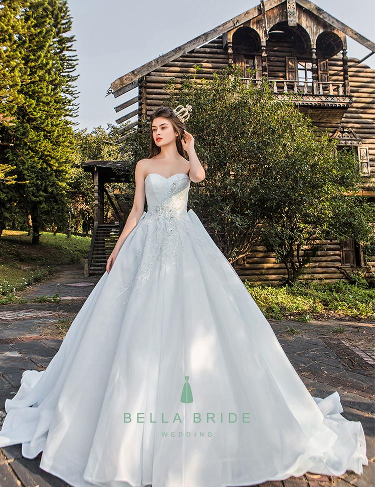 Theme Wedding Dress Blue Wedding Gowns Dress From Suzhou Wedding