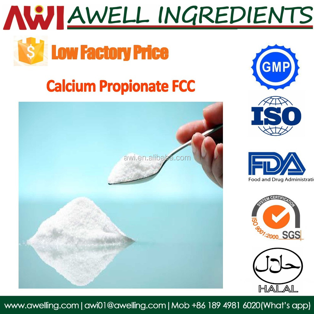 Factory supply Food grade Calcium Propionate with low price
