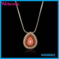 Manufacturer Beautiful Gold Costume Jewellery Handmade Beaded Necklaces