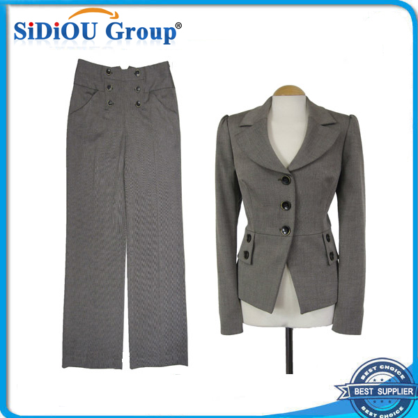 ladies short sleeve pant suits ladies office coat pant