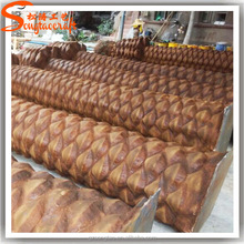 Factory direct sales high quality fiberglass trunk artificial palm tree trunk without leaves