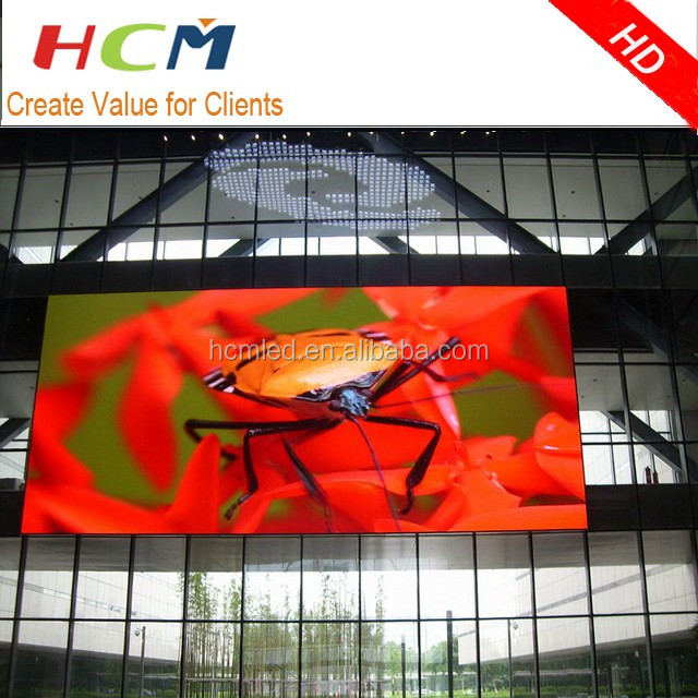 Pixel pitch 6mm SMD3535 outdoor led display xxx Led screen outdoor